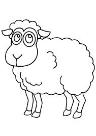 Coloriage Mouton Les Beaux Dessins De Animaux Imprimer Et