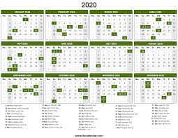 Chinese Calendar January 2020 2020 Calendar Printable 2020 Calendar