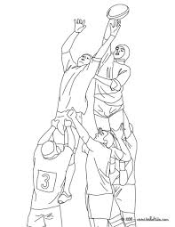 Rugby Touch Coloring Page More Sports Coloring Pages On Hellokids