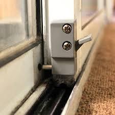sliding glass door locks ideas