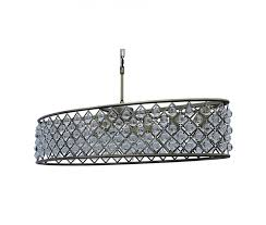 cassiel 30 inch oval crystal chandelier antique brass light up my with regard to plan 0