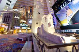 las vegas july 1 2018 luxor hotel interior view this is