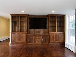Base Cabinets For Built Ins Using Stock Cabinets For Entertainment