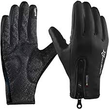 <b>ROCKBROS</b> Winter Cycling Gloves <b>Touch Screen</b> Windproof Fleece ...