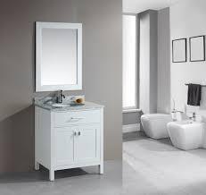 White Wood Bathroom Vanity Adorna 30 Single Bathroom Vanity White Finish Is Constructed Of