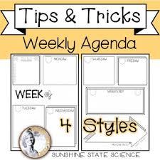 Weekly Planner Online Printable Printable Weekly Agenda Bullet Journal Style
