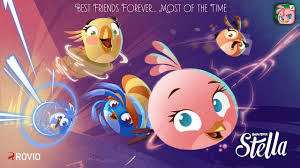 Angry Birds Slingshot Stella Walkthough Levels 1 - 11 - YouTube