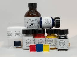 Color Chart And Composition Of Colors Gamblin Conservation