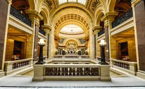 interior of the wisconsin state capitol building