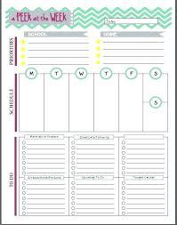 Teacher Binder Templates Free Weekly To Do List Template For Teachers Binder Printable