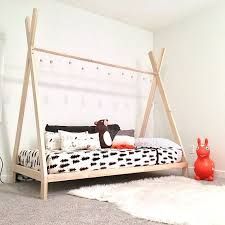 TeePee Bed Frame Twin Size Made in US in 2019 | Henry's room ...