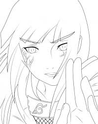 This page contains of naruto coloring pages and naruto coloring. Hinata Naruto Coloring Page Drawinginsider