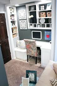 turn closet home office. Closet Office Built In Nook Basement Project Turn Home T