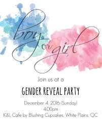 Party Invites Online Gender Reveal Online Invitations Luxury Blue Pink Gender