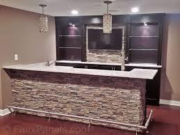 basement bar idea. Unfinished Basement - Finished Ideas (basement Decor) #Basement Tags: Ideas, Decorating, \u2026 Bar Idea