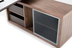 office desk storage. Modrest Lincoln - Modern Office Desk And Side Storage Cabinet Desks I