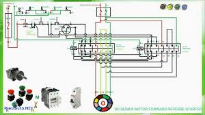 dc series motor forward reverse starter connection and pressauto net single phase reversing motor wiring diagram at Single Phase Motor Forward Reverse Wiring Diagram