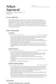 It Analyst Resume Examples Examples Of Resumes