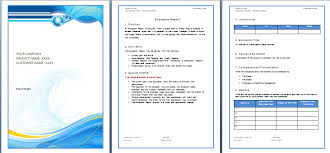 Free Microsoft Word Template Microsoft Words Template Word Report