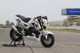 new honda grom msx125sf race bike built by hrc osaka new honda grom msx125sf race bike built by hrc osaka motorcycle show honda pro kevin