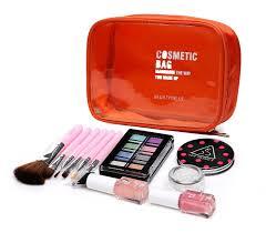 handy clear cosmetic makeup bag handbag tsa approved zipper carry on travel portable toiletries bag liquid