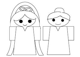 織姫のイラストの簡単でかわいい書き方とぬりえ 四季のメモノート