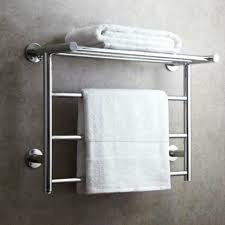 Modern towel rack Brushed Nickel Modern Silver 304 Stainless Steel Electric Towel Rack Towel Bar Polished Chrome Towel Holder Foreign Bathroom Accessories Ab3 Aliexpress Modern Silver 304 Stainless Steel Electric Towel Rack Towel Bar