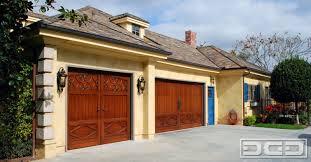 los angeles ca custom wood garage door designs custom garage door design ideas