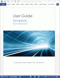 User Guide Templates 5 X Ms Word Ms Word Tips Tutorials