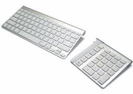 apple keyboard with numeric keypad. numeric keypad for apple mac keyboard (bluetooth) with g