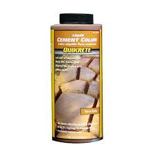 Quikrete Concrete Stain Colors Chart Quikrete 10 Oz Liquid Cement Color Terra Cotta