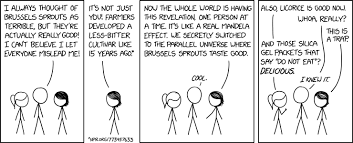 Xkcd Brussels Sprouts Mandela Effect