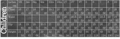 Fiesta Size Chart Fiesta Frock