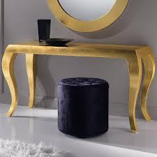 gold console table. High End Italian Gold Leaf Console Table O