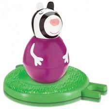 <b>Фигурка Peppa Pig неваляшка</b> зебра Зои 2 предмета 28807 ...