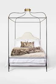 Tara Shaw Maison Iron Venetian Canopy Bed, Queen For Sale at 1stdibs