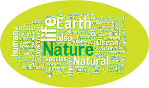 Word Of Nature Nature Word Cloud Stock Vector Colourbox
