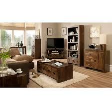 The Range Living Room Furniture Goa 3 Drawer 3 Door Sideboard Sideboards Storage George At Asda