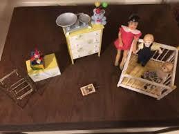 Vintage nursery furniture Designer Baby Girl Image Is Loading Dollhouseminiatureshandicraftdesignsvintagenursery Furniture Ebay Dollhouse Miniatures Handicraft Designs Vintage Nursery Furniture Ebay