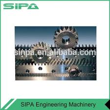 China High Quality Material Precision Plastic Rack And Pinion Gear