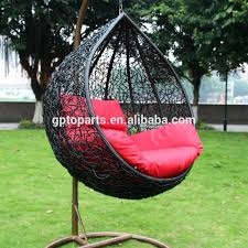 hanging egg chair outdoor furniture freestanding garden d3