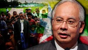 Image result for Najib leads Rohingya Protest