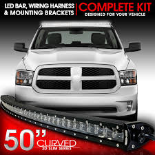 led light bar curved 288w 50 inches bracket wiring harness kit for led light bar curved 288w 50 inches bracket wiring harness kit for dodge ram 2009