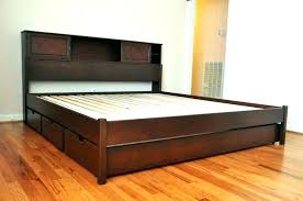 Low Rise Bed Frame Low Profile King Bed Frame Low Rise Bed Frame ...