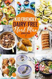Kid Friendly Dairy Free Meal Plan Cotter Crunch Gluten