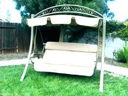 patio swings with canopy replacement swing canopies cover outdoor outside sunset 3 person porch bed