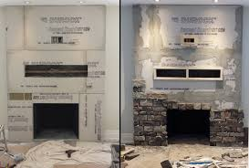 cool how to stone veneer fireplace awesome ideas