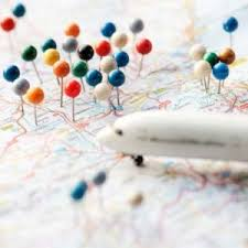 Map Pins Map Stickers Multiple Sizes Shapes Colors