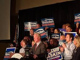 it s trump chris van hollen d md declares victory in his senate