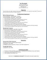 Free Resume Online Download Sample Resume Letters Job Application
